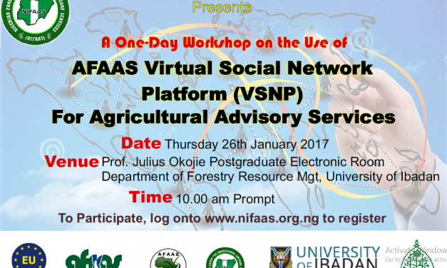 NIFAAS holds VSNP Workshop for the Southwest Zone