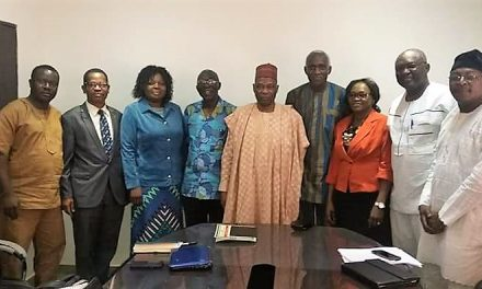 NIFAAS Excos Meet with BOT Chairman