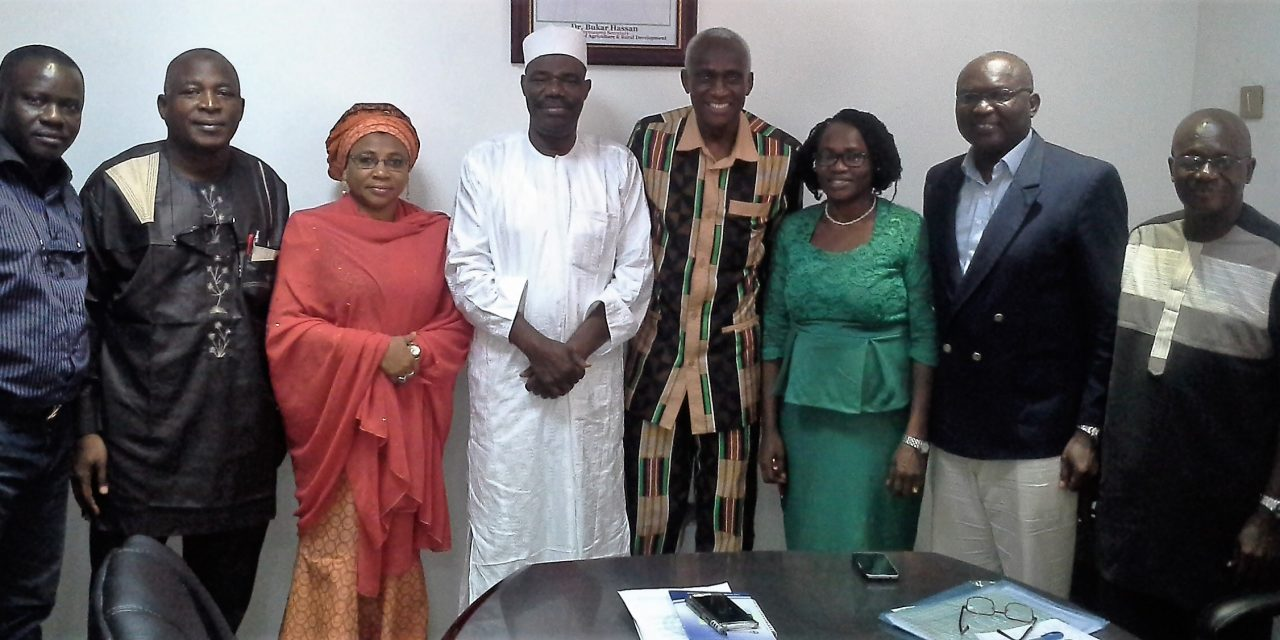 NIFAAS Courtesy Call to the Permanent Secretary, FMARD Abuja