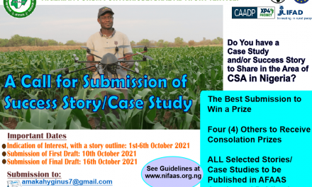 Call for Success Story/ Case Study